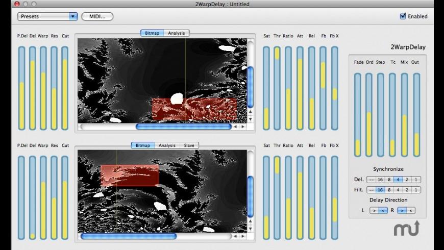 2WarpDelay for Mac - review, screenshots