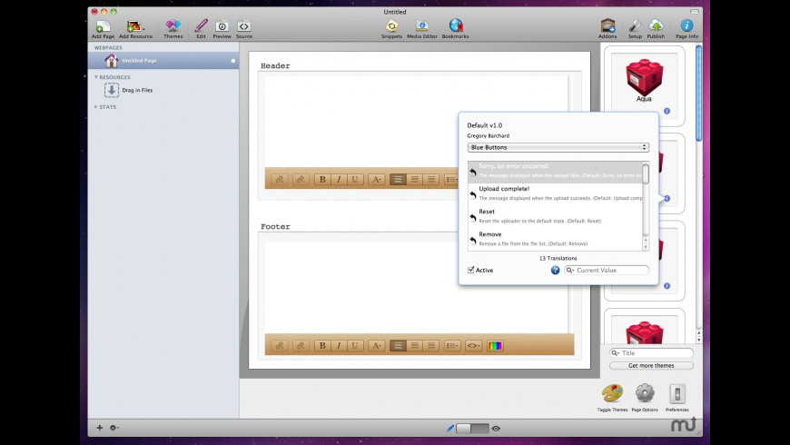 weaverBox for Mac - review, screenshots