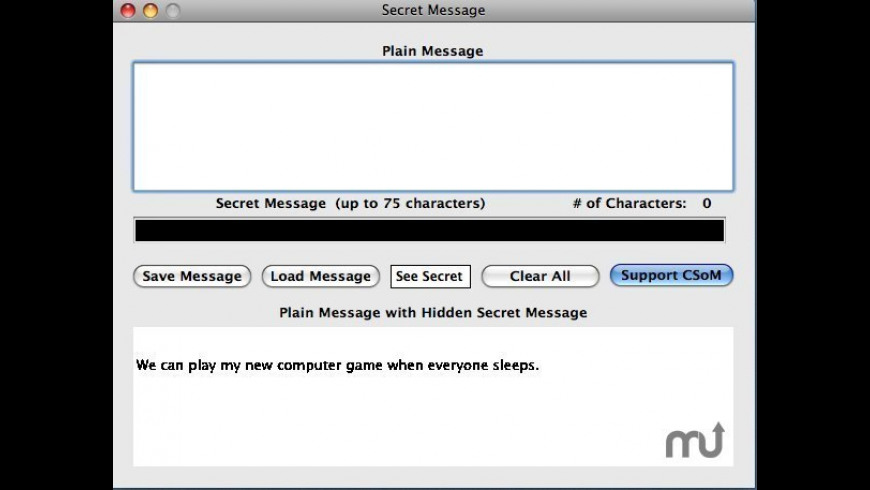Secret Message for Mac - review, screenshots