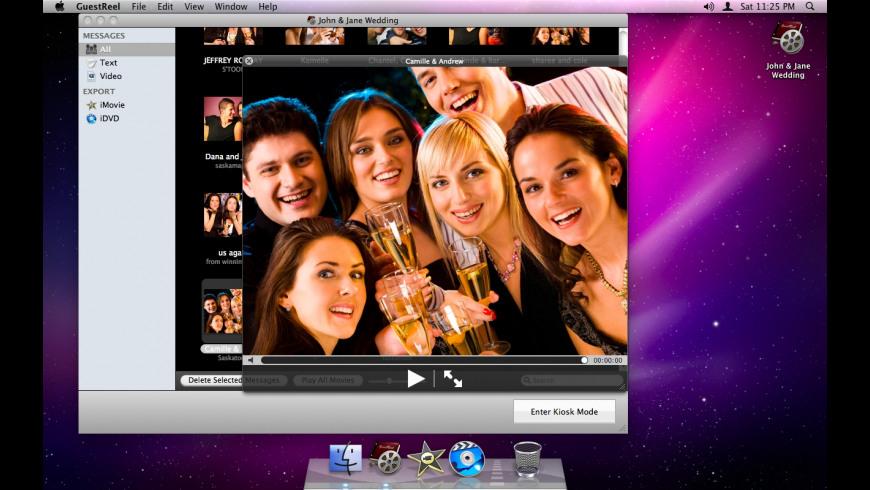 GuestReel for Mac - review, screenshots