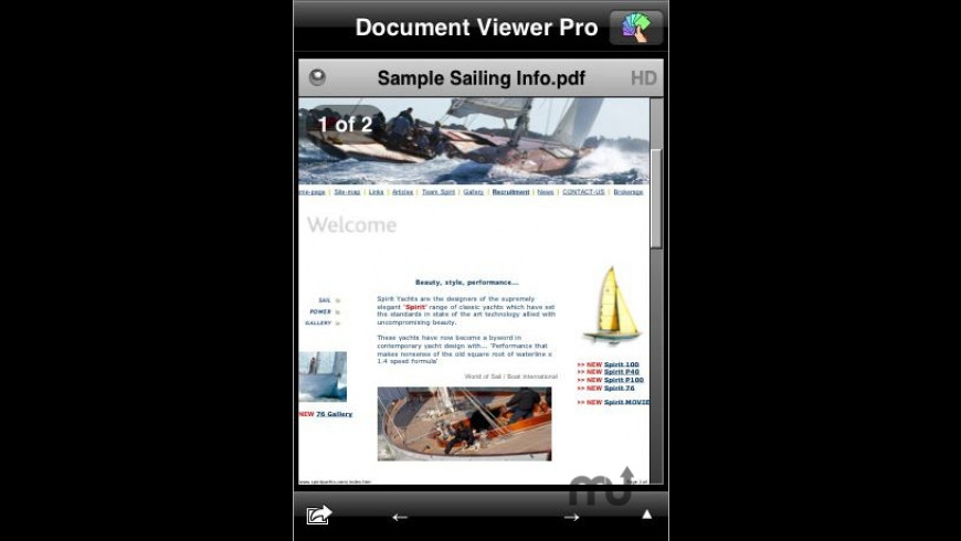 Document Viewer Pro for Mac - review, screenshots