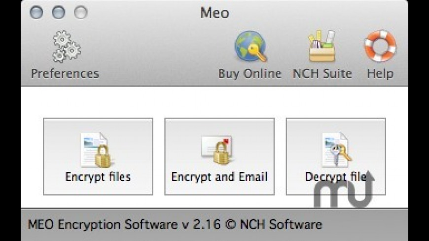 Meo for Mac - review, screenshots