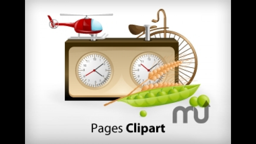 Pages Clipart for Mac - review, screenshots