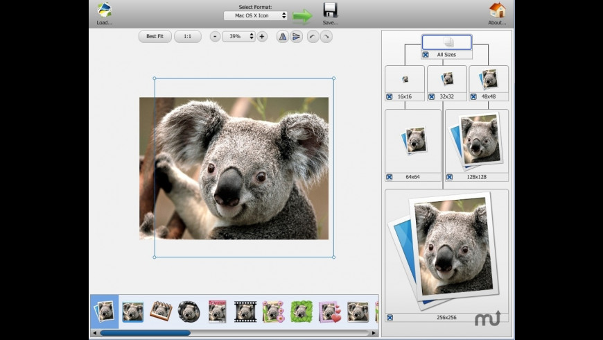 Icon Commander for Mac - review, screenshots