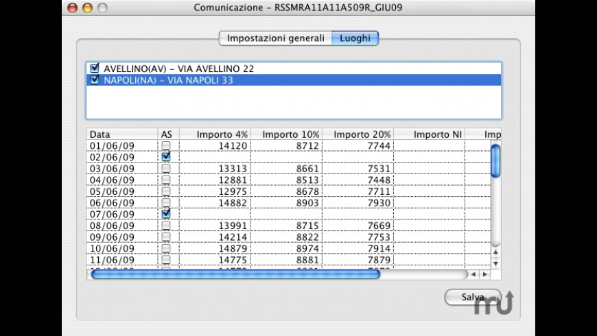 Corrispettivi Grande Distribuzione for Mac - review, screenshots