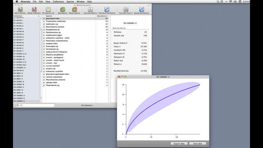 DiversityAS for Mac - review, screenshots