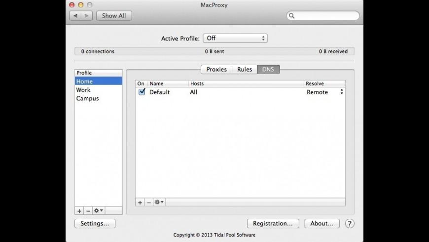 MacProxy for Mac - review, screenshots