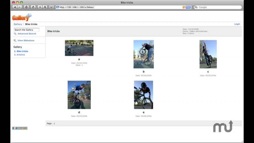 JumpBox for Gallery Photo Management for Mac - review, screenshots