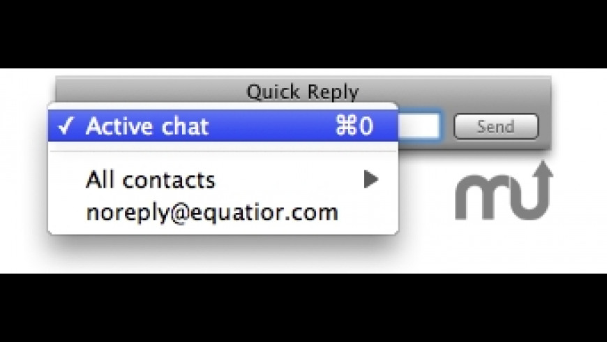 Quick Reply for Mac - review, screenshots