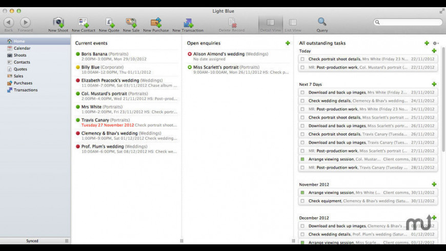 Light Blue for Mac - review, screenshots