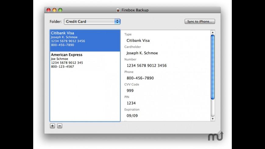 Firebox Desktop for Mac - review, screenshots