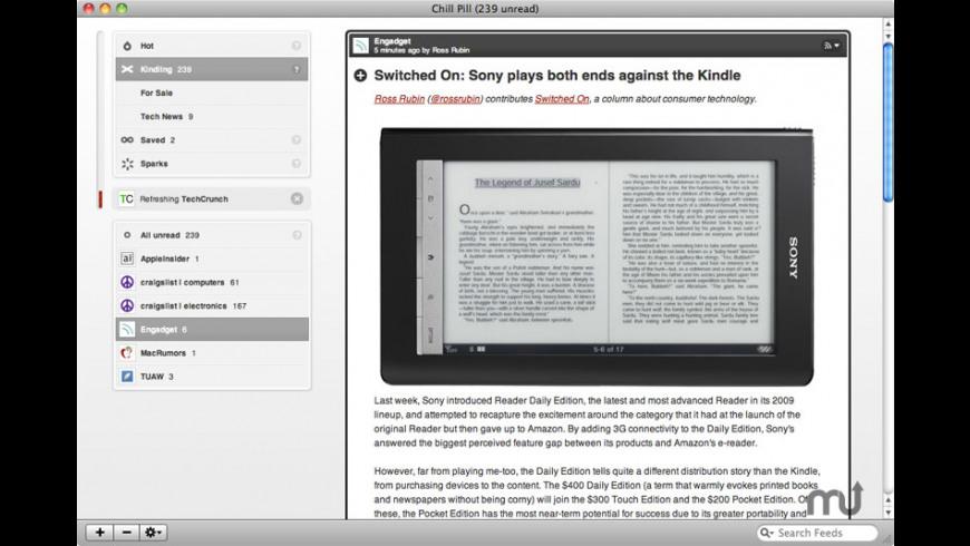 Chill Pill for Mac - review, screenshots