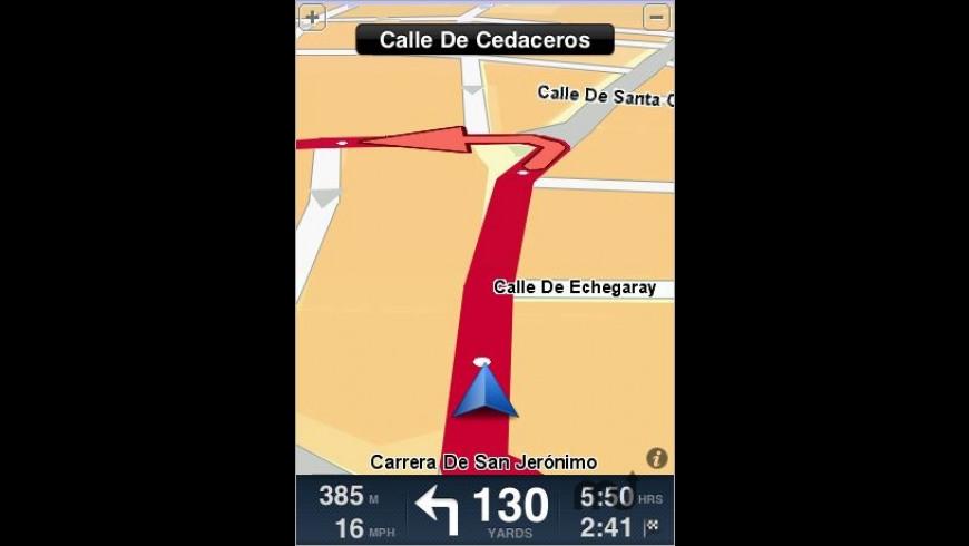 TomTom Iberia for Mac - review, screenshots