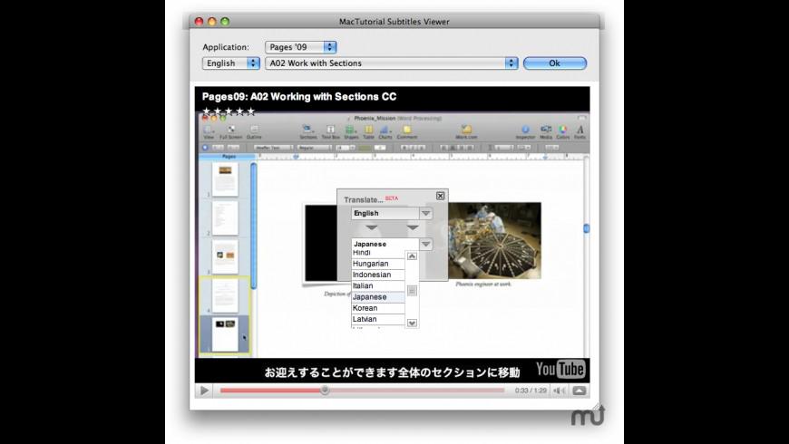 MacTutorial Viewer for Mac - review, screenshots