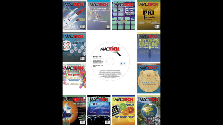 MacTech Subscription + DVD for Mac - review, screenshots