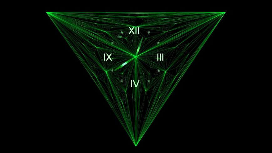 7art Emerald Clock for Mac - review, screenshots
