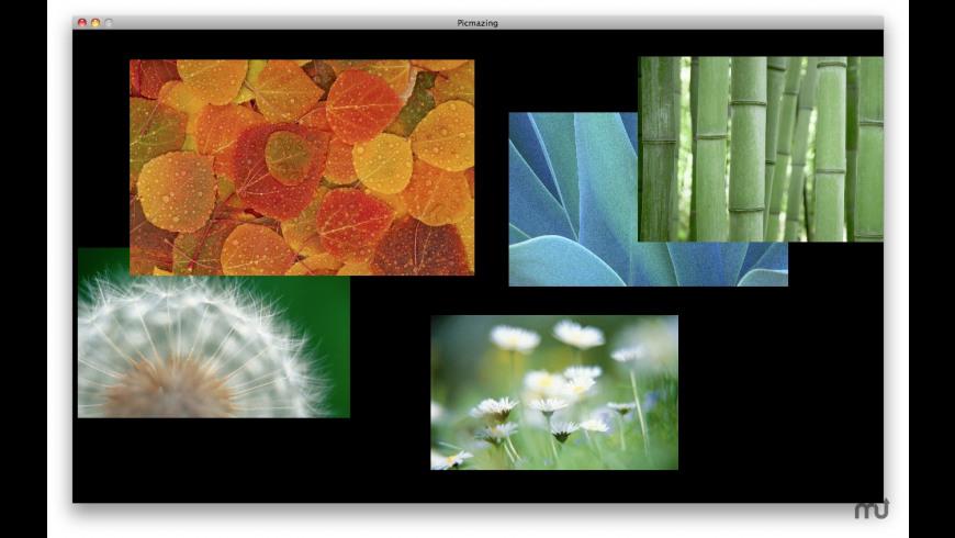 Picmazing for Mac - review, screenshots