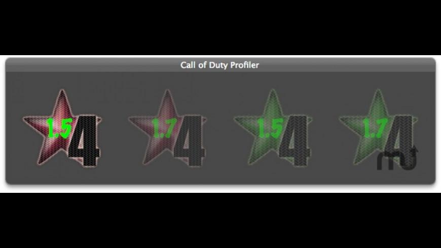 Call Of Duty Profiler for Mac - review, screenshots