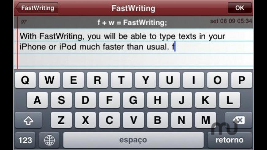 FastWriting for Mac - review, screenshots