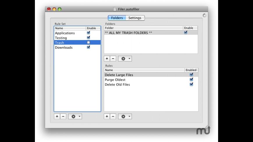 AutoFiler for Mac - review, screenshots
