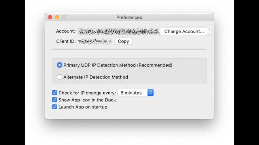 No-IP DUC for Mac - review, screenshots