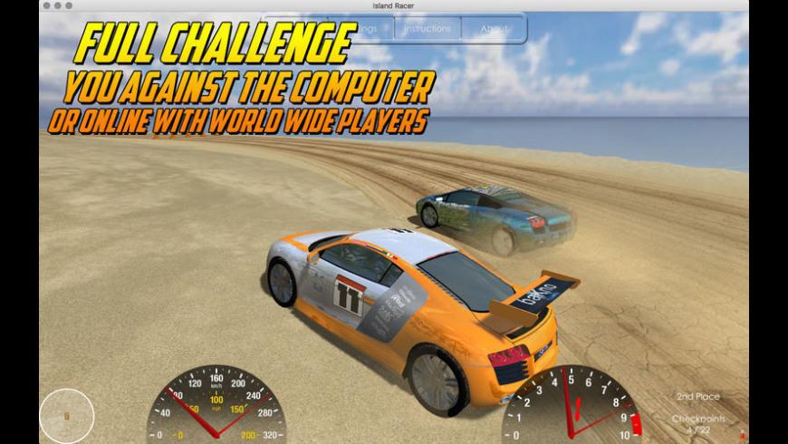 Island Racer for Mac - review, screenshots