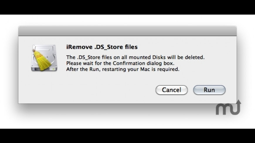 iRemove .DS_Store files for Mac - review, screenshots