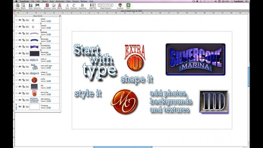 TypeStyler 11 6 Free Download for Mac | MacUpdate
