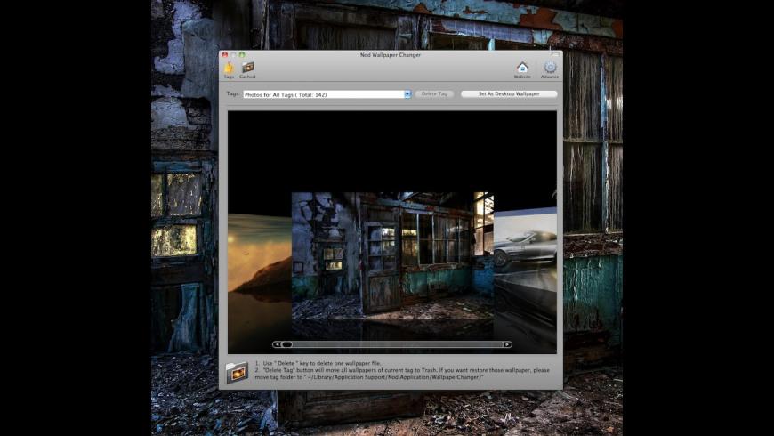 Nod Wallpaper Changer for Mac - review, screenshots