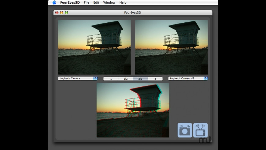 FourEyes3D for Mac - review, screenshots