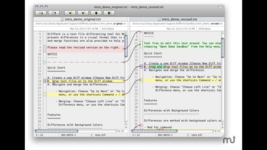 DiffFork 1 1 9 2 Free Download for Mac | MacUpdate