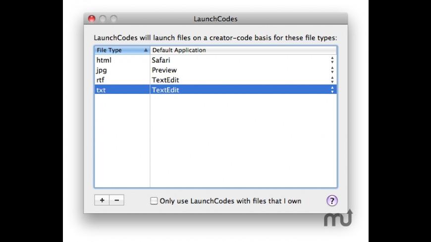 LaunchCodes for Mac - review, screenshots
