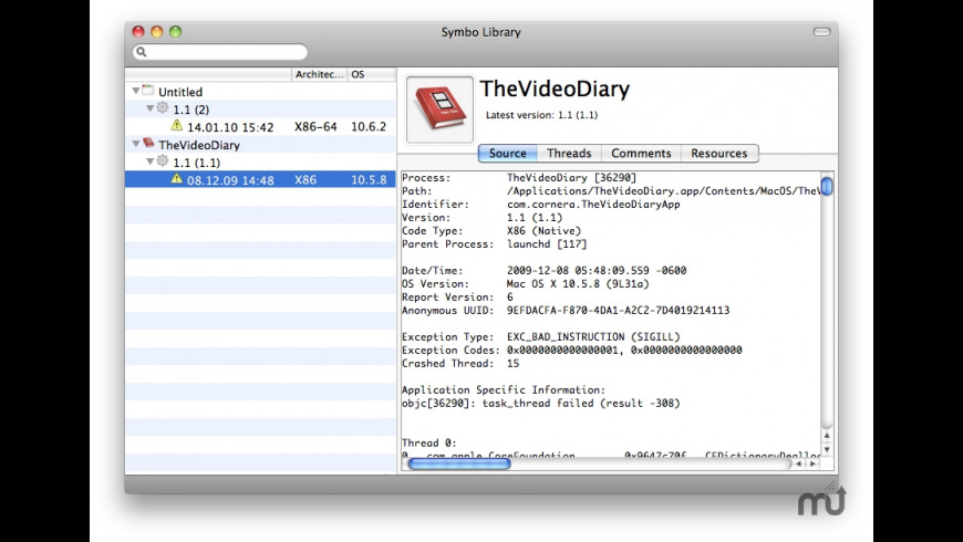 Symbo for Mac - review, screenshots