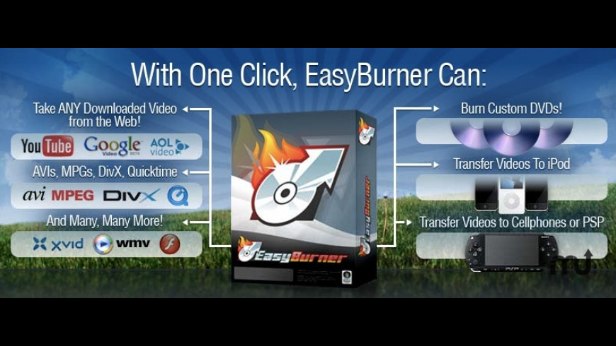 Easyburner for Mac - review, screenshots