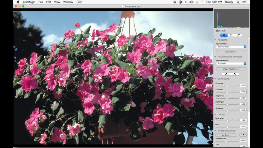pcdMagic for Mac - review, screenshots