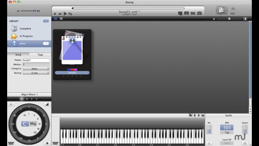 Xsong for Mac - review, screenshots