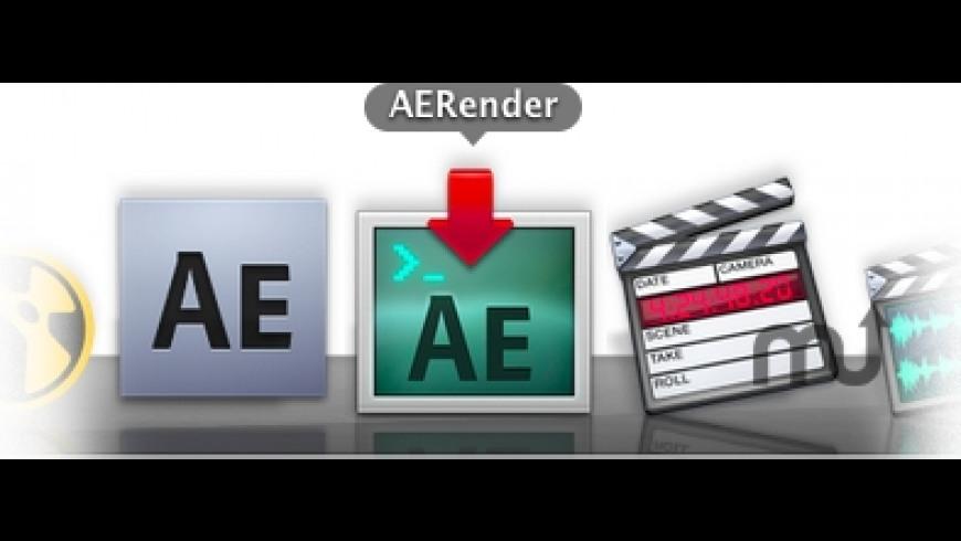 AERender for Mac - review, screenshots