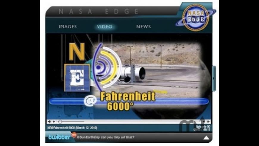 NASAEdgeWidget for Mac - review, screenshots