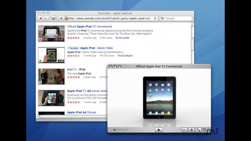 QuickTubePlayer for Mac - review, screenshots