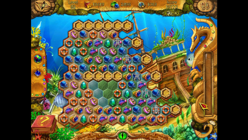 Lost In Reefs for Mac - review, screenshots