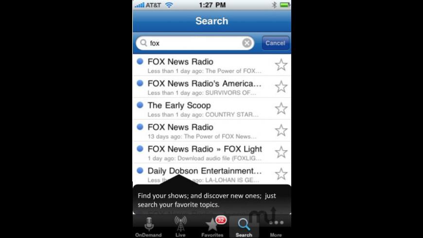 Stitcher Radio for Mac - review, screenshots