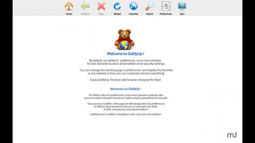 GiddyUp for Mac - review, screenshots