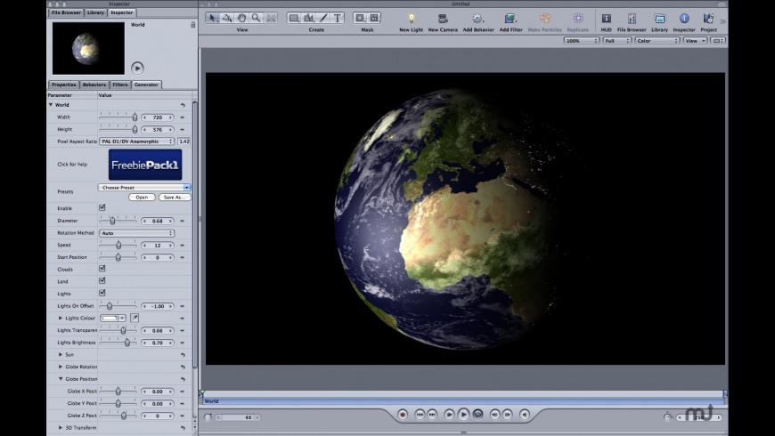 Freebie Pack1 for Mac - review, screenshots
