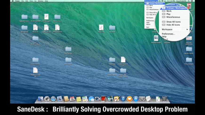 SaneDesk for Mac - review, screenshots