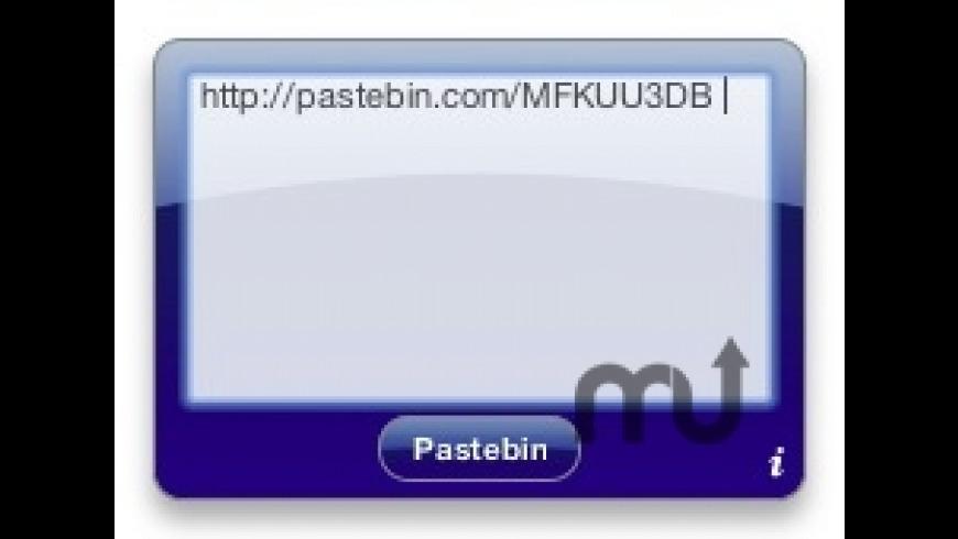 Pastebin Widget for Mac - review, screenshots