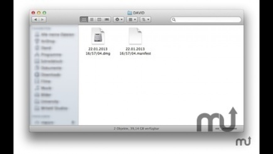 USB Backup for Mac - review, screenshots