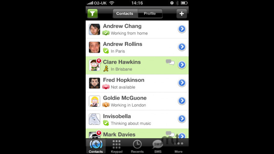 Truphone for Mac - review, screenshots