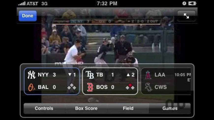 MLB.com At Bat 2010 for Mac - review, screenshots