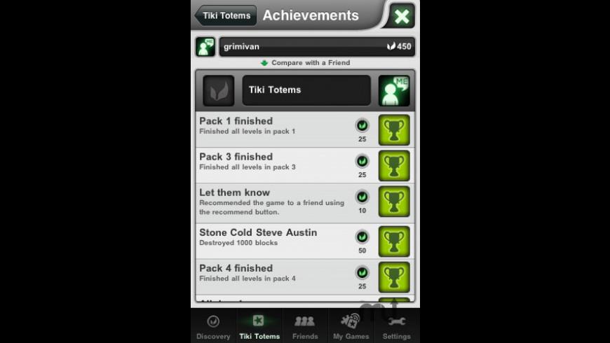 Tiki Totems Premium for Mac - review, screenshots