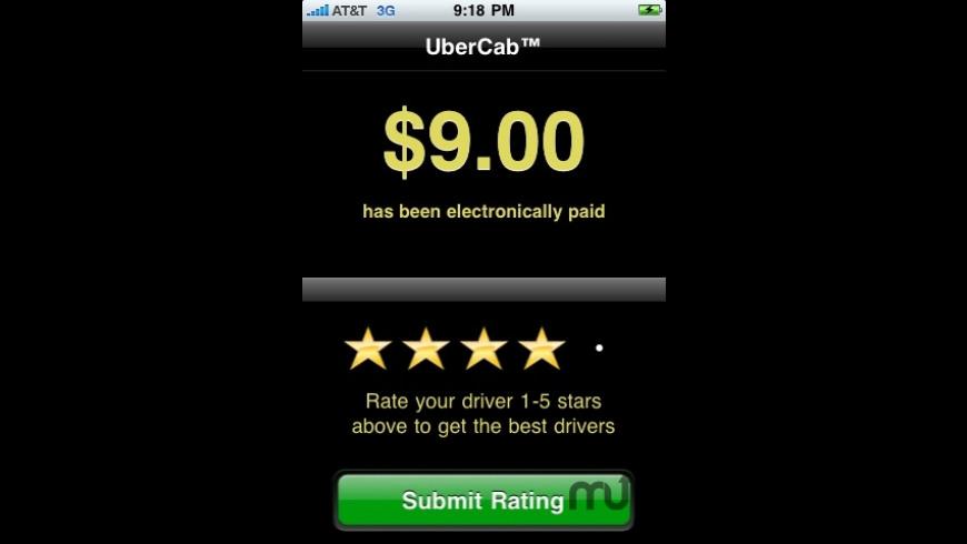 UberCab for Mac - review, screenshots